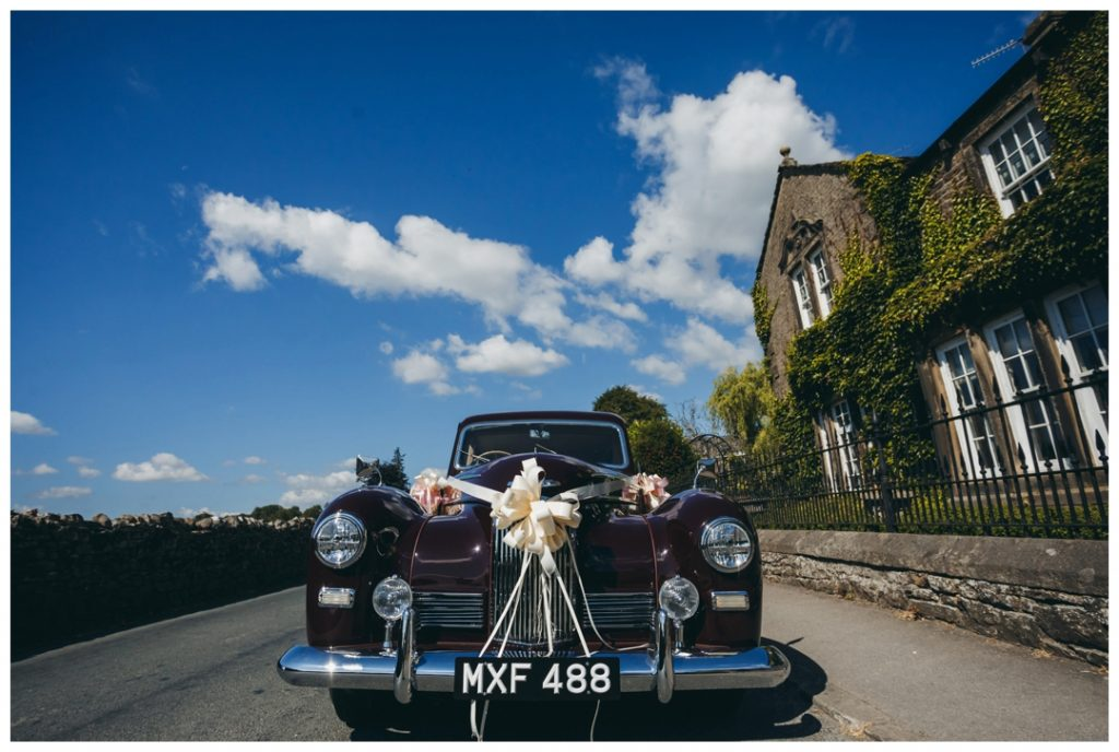 Yorkshire Dales Wedding car